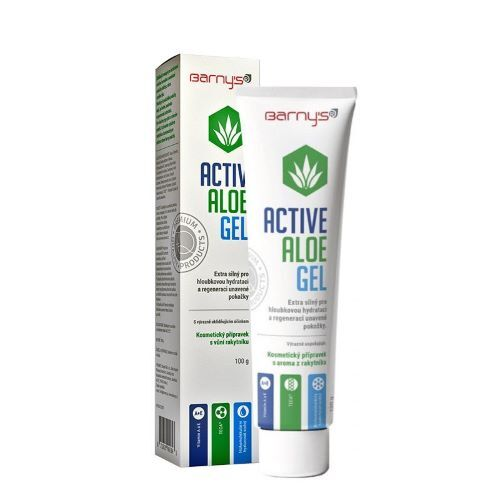 Zobrazit detail výrobku Barny´s Activ Aloe gel 100 g