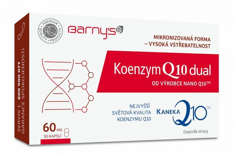Zobrazit detail výrobku Barny´s Koenzym Q10 dual 30kapslí