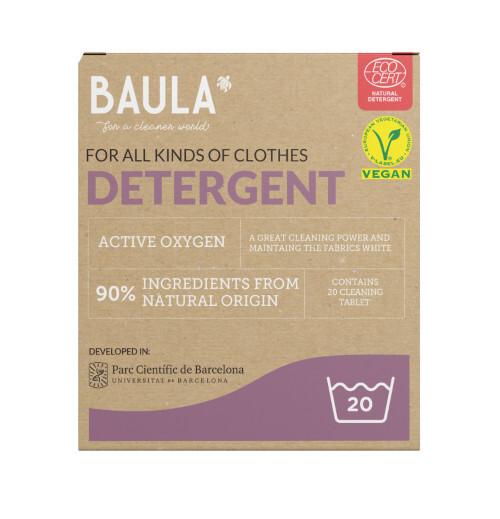 Zobrazit detail výrobku Baula Ekologické tablety na praní s aktivním kyslíkem 20 ks