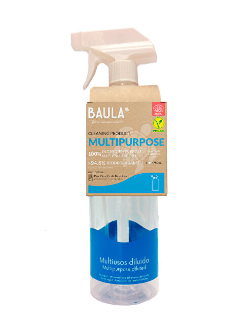 Zobrazit detail výrobku Baula Univerzal + sklo Starter Kit - láhev + ekologická tableta na úklid 5 g