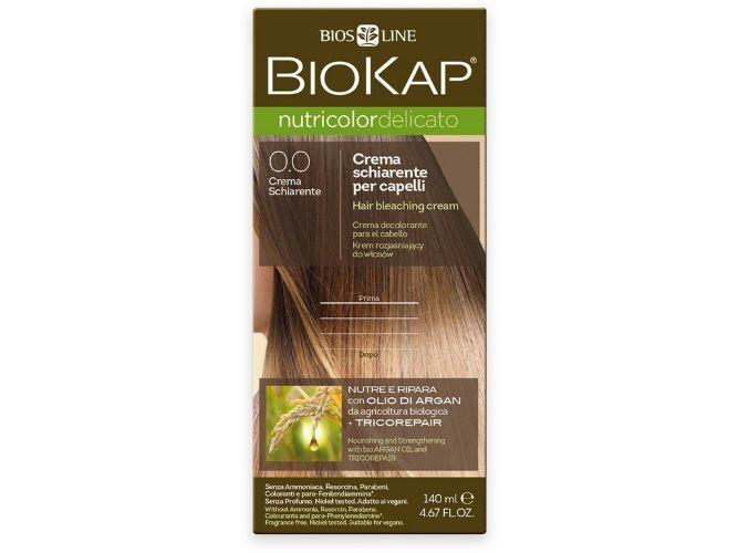 Zobrazit detail výrobku Biokap NUTRICOLOR DELICATO - Barva na vlasy - 0.0  Zesvětlovač 140 ml
