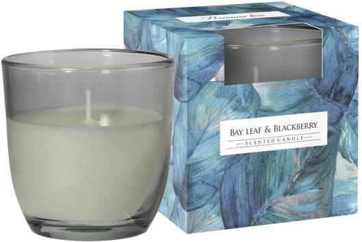 Zobrazit detail výrobku Bispol Vonná svíčka bobkový list + ostružina 100 g