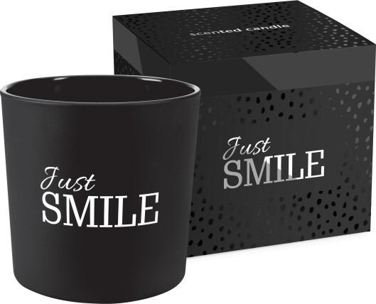 Zobrazit detail výrobku Bispol Vonná svíčka Just smile 300 g