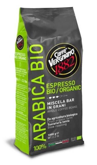 Zobrazit detail výrobku CASA DEL CAFE VERGNANO Vergnano Biologica Zrno 1 kg