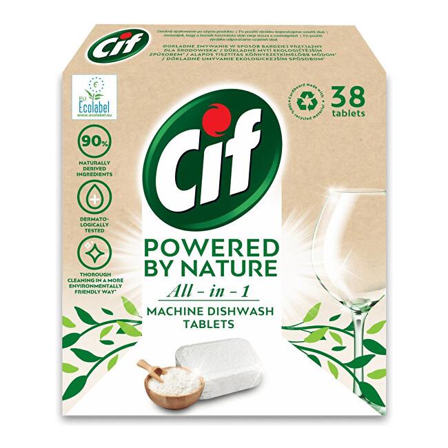 Zobrazit detail výrobku Cif EKO tablety do myčky All-in-1 38 tablet