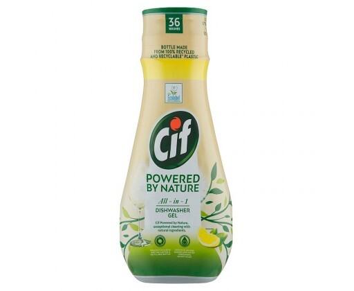 Zobrazit detail výrobku Cif Gel do myčky Powered by Nature 36 dávek