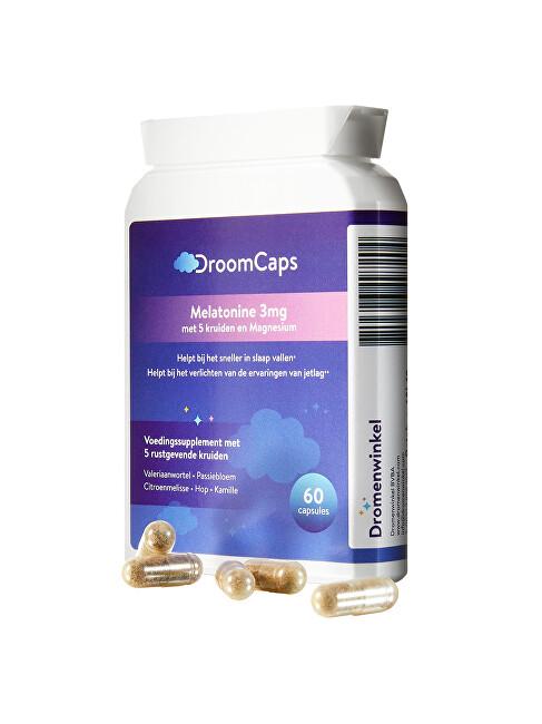 Zobrazit detail výrobku DroomCaps Tobolky DroomCaps s Melatoninem 60 tobolek