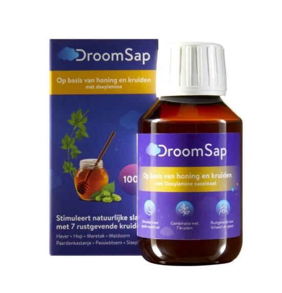Zobrazit detail výrobku DroomSap Sirup na spaní DroomSap 100 ml