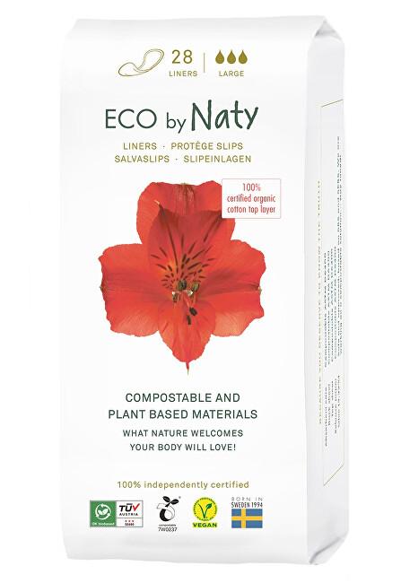 Zobrazit detail výrobku Eco by Naty Dámské slipové vložky ECO by Naty  - super (28 ks)
