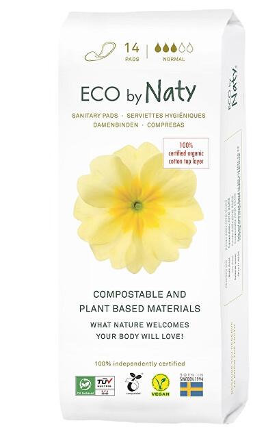 Zobrazit detail výrobku Eco by Naty Dámské vložky ECO by Naty - normal 14 ks