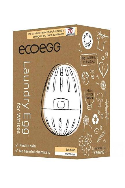 Zobrazit detail výrobku Ecoegg Prací vajíčko na bílé prádlo na 70 praní - jasmín