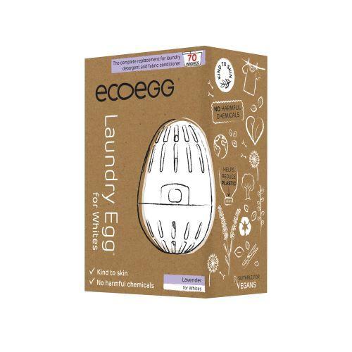 Zobrazit detail výrobku Ecoegg Prací vajíčko na bílé prádlo na 70 praní - levandule