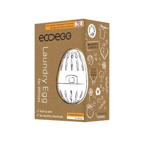 Zobrazit detail výrobku Ecoegg Prací vajíčko na bílé prádlo na 70 praní - pomeranč