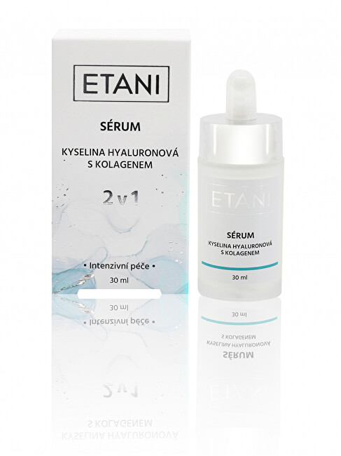 Zobrazit detail výrobku ETANI Sérum 2v1 kyselina hyaluronová s kolagenem 30 ml