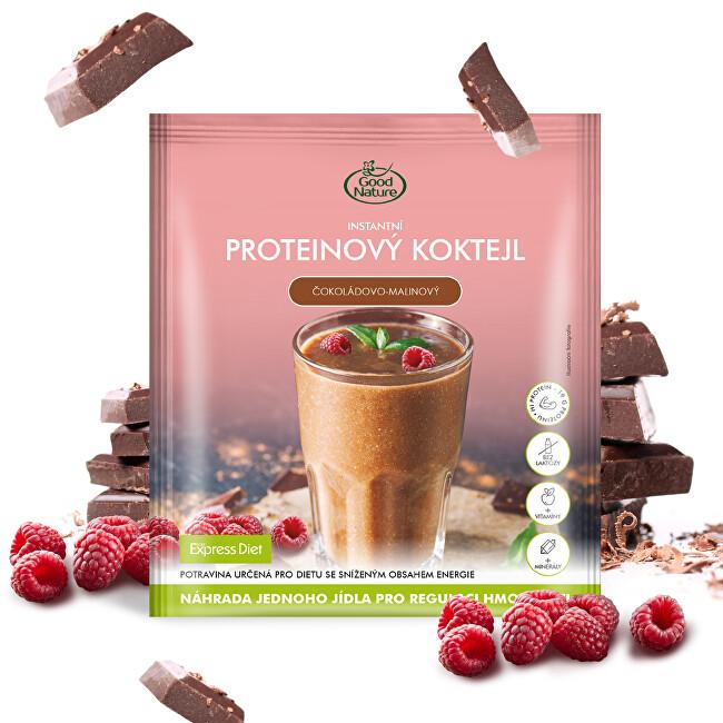 Zobrazit detail výrobku Good Nature Proteinový čokoládovo-malinový koktejl na hubnutí 60 g