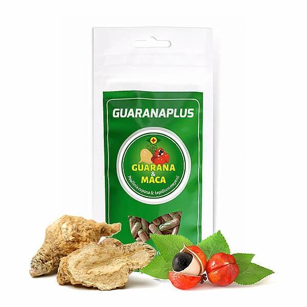 Guarana + Maca, 100 kapslí