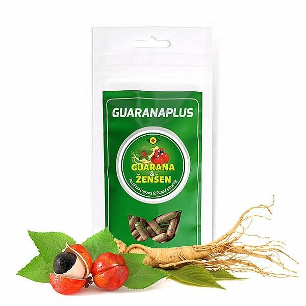 Zobrazit detail výrobku Guaranaplus Guarana + Ženšen 100 kapslí