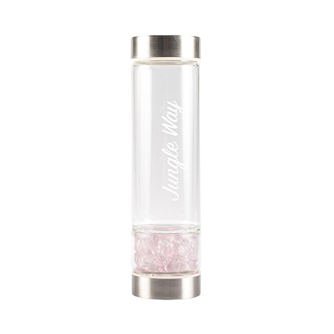 Zobrazit detail výrobku Jungle Way Designová skleněná láhev s růženínem 480 ml