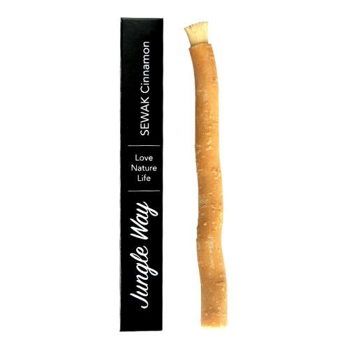 Zobrazit detail výrobku Jungle Way Zubní kartáček sewak se skořicovou příchutí