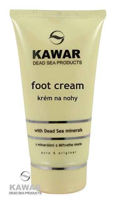 Zobrazit detail výrobku Kawar Krém na nohy s minerály z Mrtvého moře 150 ml