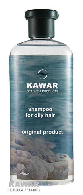 Zobrazit detail výrobku Kawar Šampon na mastné vlasy s minerály z Mrtvého moře 400 ml