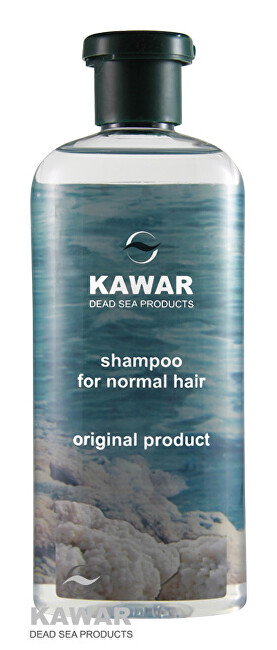 Zobrazit detail výrobku Kawar Šampon na normální vlasy s minerály z Mrtvého moře 400 ml
