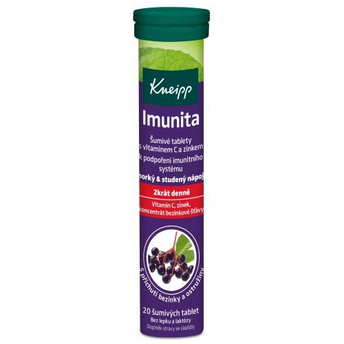 Zobrazit detail výrobku Kneipp Šumivé tablety Imunita 20 tablet