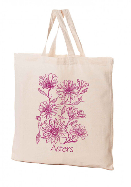 Zobrazit detail výrobku KPPS Přírodní bavlněná taška 16 l Astry