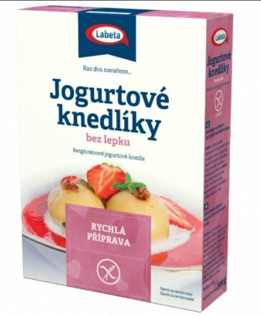 Zobrazit detail výrobku LABETA A.S. Jogurtové knedlíky bez lepku 300 g