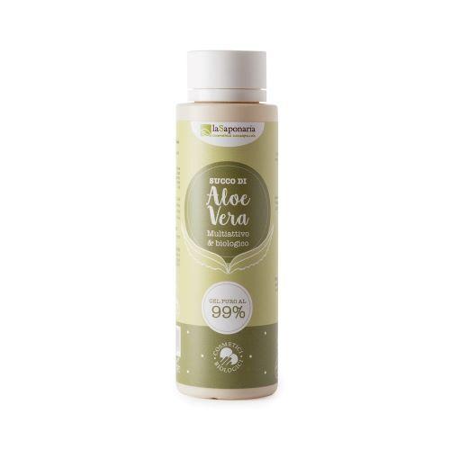 Zobrazit detail výrobku laSaponaria 99% Aloe vera gel na tělo a vlasy BIO 150 ml