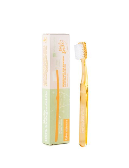 Zobrazit detail výrobku laSaponaria Dětský zubní kartáček - meruňkový