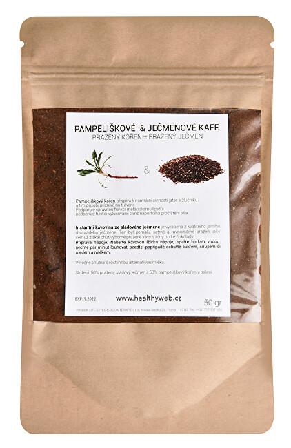 Zobrazit detail výrobku Life Style Směs pampeliškové a ječmenové kávy mleté 50 g
