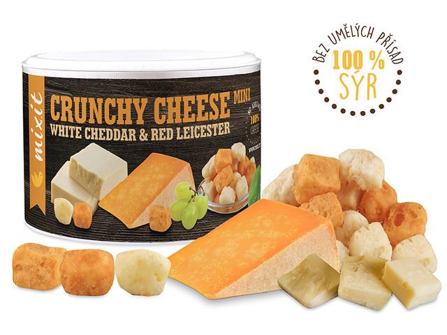 Zobrazit detail výrobku Mixit Křupavý sýr: White Cheddar & Red Leicester 70 g