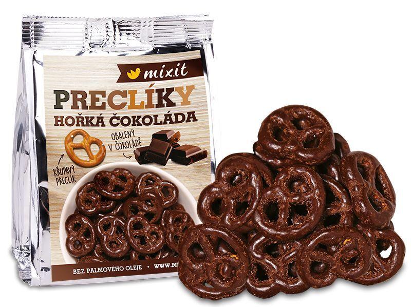 Zobrazit detail výrobku Mixit Preclíky do kapsy - Hořká čokoláda 70 g