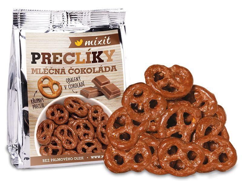Zobrazit detail výrobku Mixit Preclíky do kapsy - Mléčná čokoláda 70 g