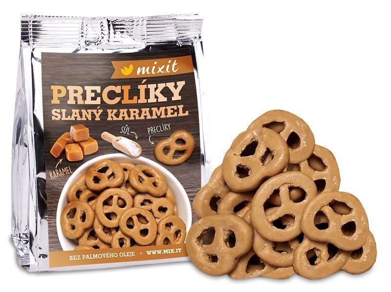 Zobrazit detail výrobku Mixit Preclíky do kapsy - Slaný karamel 70 g