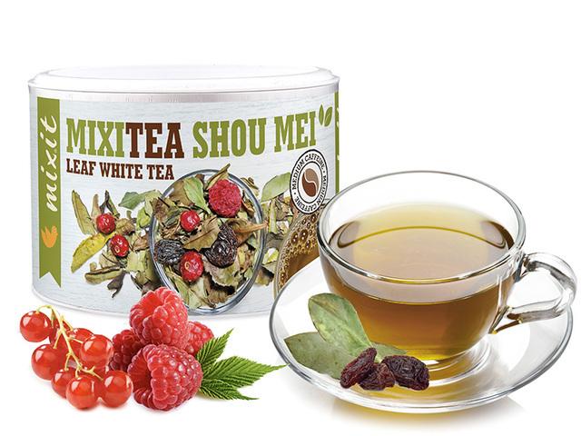 Zobrazit detail výrobku Mixit Mixitea - Bílý čaj Showman Malina 40 g