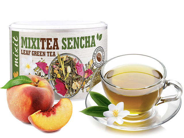 Zobrazit detail výrobku Mixit Mixitea - Zelený čaj Senza Broskev 65 g