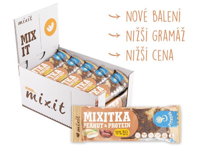 Zobrazit detail výrobku Mixit Mixitka bez lepku - Arašídy + Protein 20 ks