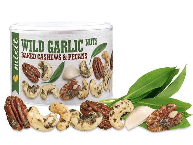Zobrazit detail výrobku Mixit Oříšky z pece - medvědí česnek 150 g