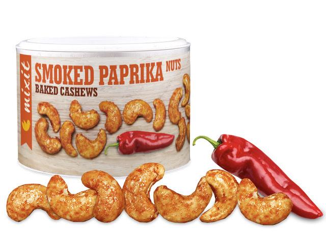 Zobrazit detail výrobku Mixit Oříšky z pece - uzená paprika 150 g