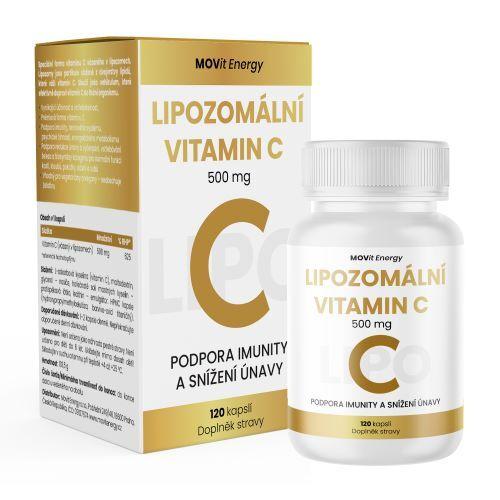 Zobrazit detail výrobku MOVit Energy Lipozomální Vitamin C 500 mg 120 kapslí