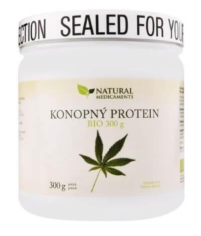 Zobrazit detail výrobku Natural Medicaments Konopný protein BIO 300 g