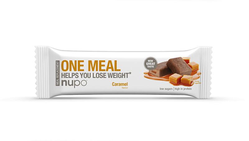 Zobrazit detail výrobku NUPO ONE MEAL tyčinka Karamelová 60 g