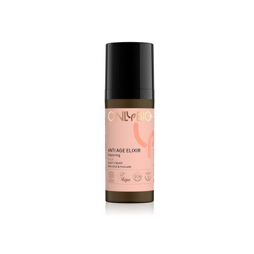 Zobrazit detail výrobku OnlyBio Obnovující noční pleťový krém Anti Age Elixir 50 ml