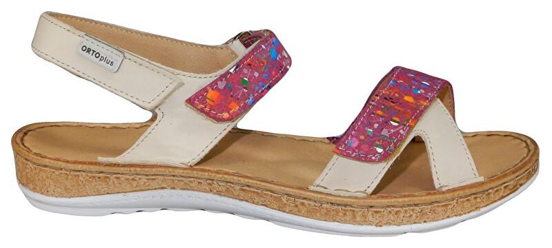 Zobrazit detail výrobku ORTO plus Krémové sandály se zvýšeným zdravotním účinkem 38