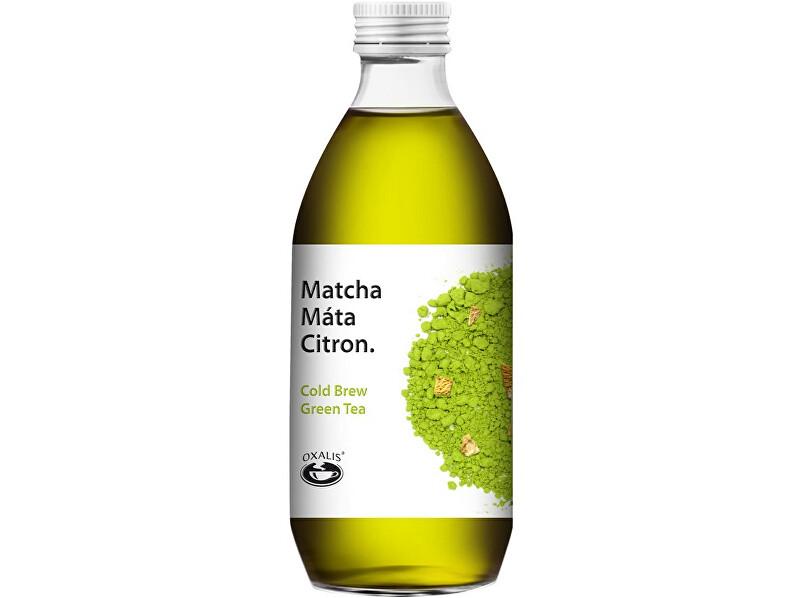 Zobrazit detail výrobku OXALIS Ledový nápoj Matcha Máta 330 ml