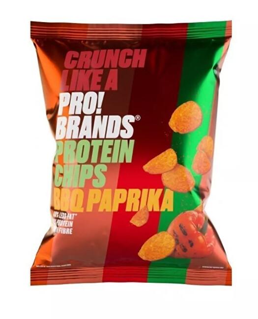 Zobrazit detail výrobku PRO!BRANDS Chips 50 g - BBQ/paprika