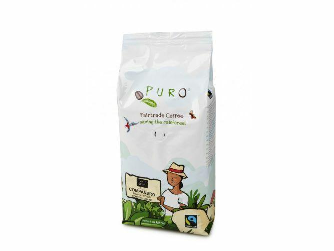 Zobrazit detail výrobku Puro Puro zrnková káva BIO COMPANERO 1 kg