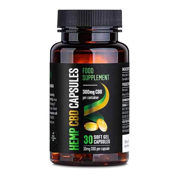Reakiro CBD Gélové kapsuly 300 mg CBD 30 ks